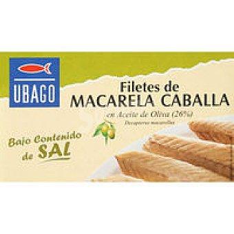 Ubago Caballa en aceite de oliva bajo en sal Lata 120 g