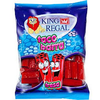 King Regal Taco barra de fresa Bolsa 150 g