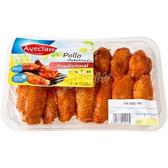 AVECLASS Alas de pollo adobadas Bandeja 500 g