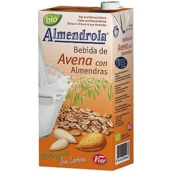 ALMENDROLA Bebida de avena con almendras 100% vegetal sin lactosa Envase 1 l