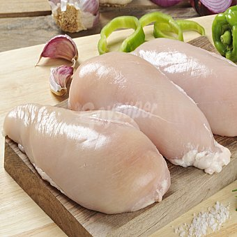 Carrefour Pechuga entera de pollo. Envase familiar Envase de 1200.0 g.