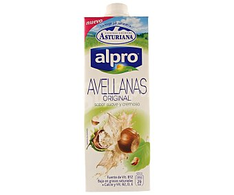 ASTURIANA ALPRO Bebida de avellana baja en grasas con calcio y vitamina B2D y E  envase 1 l