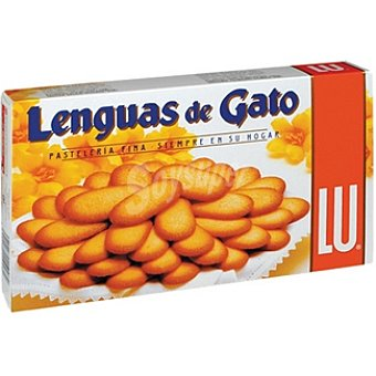Lu Galletas de mantequilla Lenguas de Gato Caja 200 g