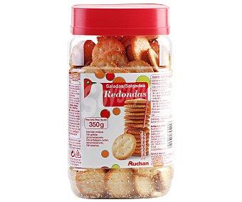 Auchan Galletas redondas saladas 350 gramos