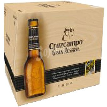 Cruzcampo Gran Reserva Cerveza gran reserva Pack 12x25 cl