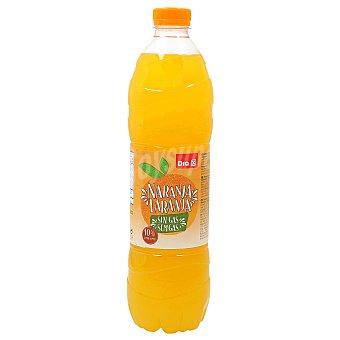 DIA Bebida de zumo de naranja Botella 1.5 lt