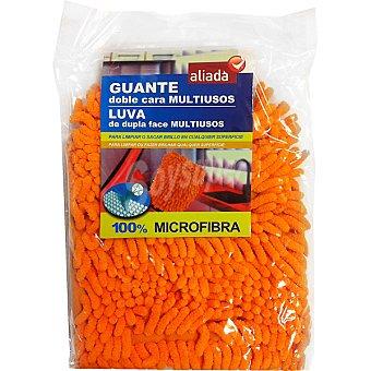 Aliada Guante microfibra doble cara multiusos Envase 1 unidad