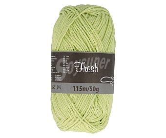 MERCERÍA Hilo de tejer de colores surtidos, 115 m./50 gr., material 100% algodón, mercería.