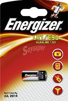Energizer Pila alcalina LR1/E90 1 Unidad