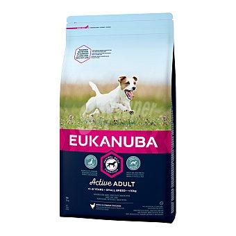 Eukanuba Eukanuba Active Adult razas pequeñas con pollo 7,5 kg