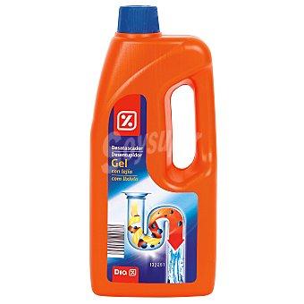 DIA Desatascador gel con lejía Botella 1 lt