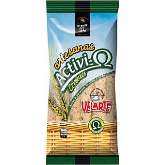 Velarte Barritas de pan con cereales Activio Bolsa 90 g