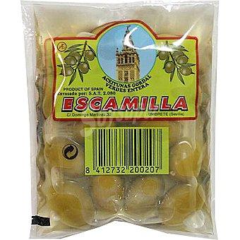 Escamilla Aceitunas gordal enteras bolsa 95 g Bolsa 95 g