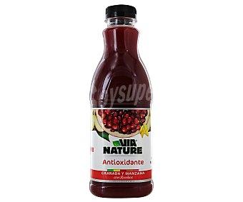 VIANATURE Zumo Rojo (granada y manzana con té rojo) Botella 900 ml