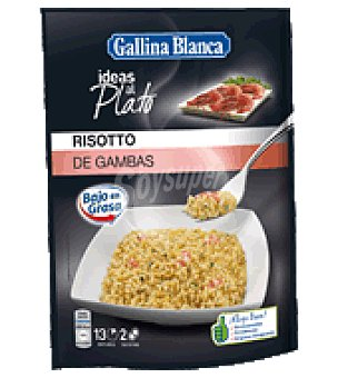 Gallina Blanca Risotto de gambas ideas al plato 170 g