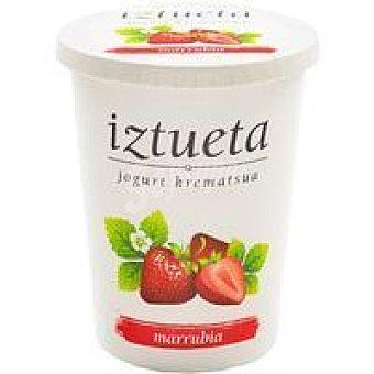 Iztueta Yogur de fresa Tarrina 500 g
