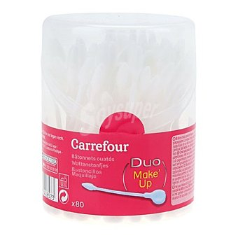 Carrefour Bastoncillos Desmaquillantes 80 ud