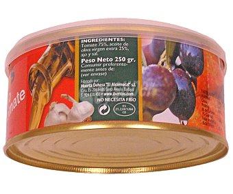Iberitos Tomate natural con aceite y ajo 250 gramos