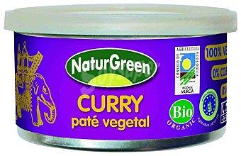 Naturgreen Paté vegetal de curry ecológico Tarrina 125 g