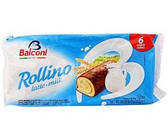 Balconi Bizcochos rellenos de crema de leche 6 unidades de 37 gramos