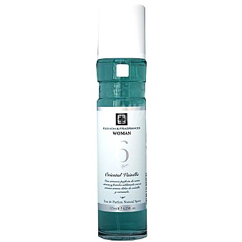 FASHION & FRAGANCES nº 6 oriental vainilla eau de parfum natural Woman Spray 125 ml