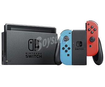 Nintendo Consola Switch color azul y rojo nintendo