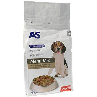 AS Alimento para perro menú mix completo y variado buey Bolsa 4 kg
