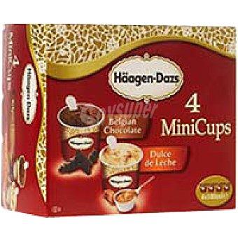 Häagen-Dazs Mini Cups de chocolate Atraction Pack 4x100 ml