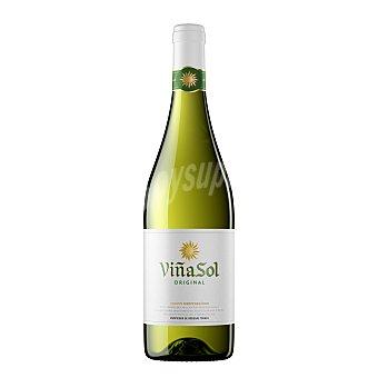 Viñasol Vino blanco con denominación de origen Cataluña Botella de 75 cl