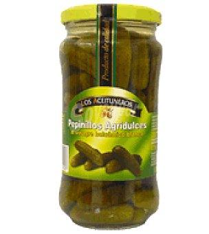 Los Aceituneros Pepinillos al vinagre balsamico blanco de modena 180 g