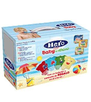 Hero Baby Lote Tarritos variados Pack de Verano pack de 18x200 g