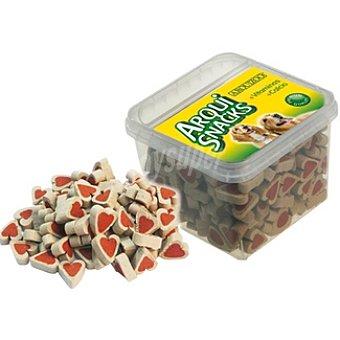 Arquizoo arqui-snacks Snacks para perro de pollo con forma de corazones Caja 200 g