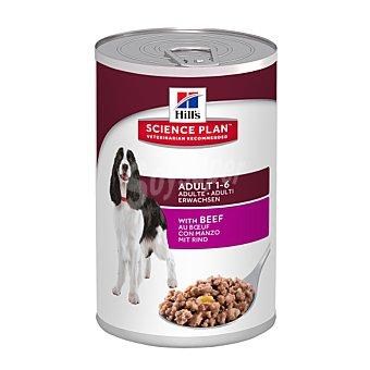 Hill's Science Plan Alimento húmedo para perro adulto con ternera Bote 370 g