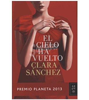 Premio El cielo ha vuelto planeta 2013 (clara Sánchez)