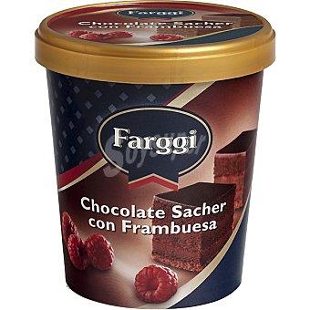 Farggi Chocolate Sacher con Frambuesa Tarrina 500 ml