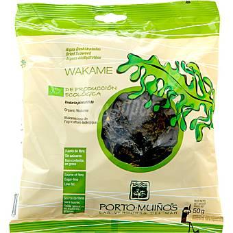 Porto Muiños Algas deshidratadas wakame undaria Bolsa 50 g