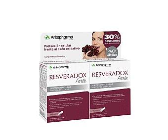 RESVERADOX Forte Complemento alimenticio para la protección celular 2 x 30 uds