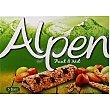 barritas de cereales con frutos secos estuche 140 g 5 unidades Alpen