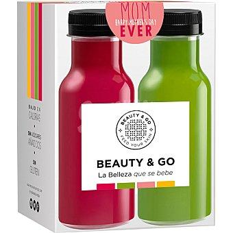 BEAUTY & GO Bebidas funcionales Pack Especial Dia de la Madre 4 botellas de 20 cl