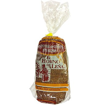 EL HORNO DE LEÑA pan de centeno tipo alemán Bolsa 400 g