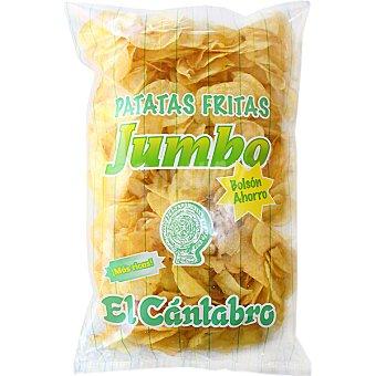 El Cántabro Patatas fritas Jumbo bolsa 500 g Bolsa 500 g