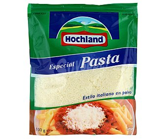 Hochland Rallados Queso rallado en polvo especial pasta Bolsa 100 g