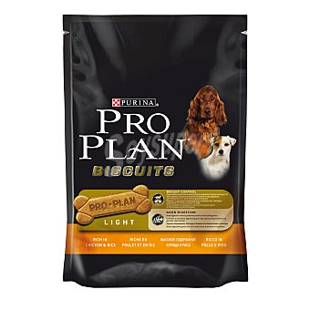 Pro plan Snack para perros adultos Purina Pro Plan Biscuits Light 400 gr 400 gr