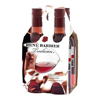 René Barbier Estuche de vino D.O. Cataluña rosado Pack 4x25 cl