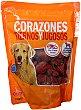 Comida perro snack razas pequeñas corazones Paquete 350 g Compy