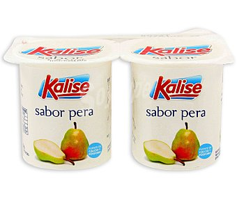 Kalise Yogur Sabor Pera Pack 4 Unidades de 125 Gramos