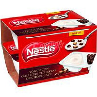 Nestlé Yogur con galletas Pack 2x115 g