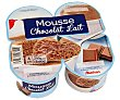Mousse de chocolate 4 x 100 g Auchan