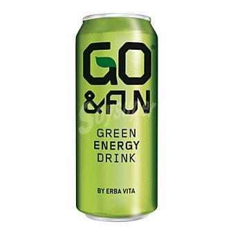 Go&Fun Bebida energética green energy 25 cl