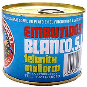 BLANCO Foiegras Felanitx Lata 195 g